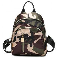 0df0cfd23 Multi Zips Nylon Backpack Mobile Bolsos Negros, Bolsos Vintage, Bolsos Al  Por Mayor,