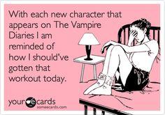 The Vampire Diaries....those dang CW actors....