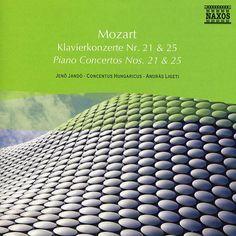 Piano Concertos Nos.21-Jeno Jando-Naxos