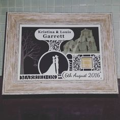Bespoke wedding gift for Garrett's! #jld #actualchurch #weddings  #weddingday #uniquegiftideas #weddinginspiration #weddingdetails #wedding #new #cool