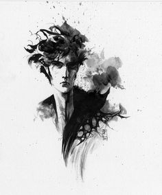 Sandman by J.H. Williams III  I know he's not on the Justice League Dark team... but how cool would that be if he were?!