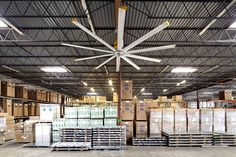 Condensation threatened to rust and ruin products stored at kitchen and bath distributor Aaron & Company's New Jersey warehouse. Since installing two Big Ass Fans, the company hasn't lost a thing thanks to the improved airflow and temperature regulation.