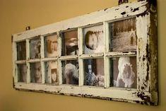 Старые оконные рамы – находка для дизайна интерьера!