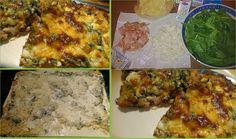 Ελληνικές συνταγές για νόστιμο, υγιεινό και οικονομικό φαγητό. Δοκιμάστε τες όλες Greek Recipes, Pie Dish, Palak Paneer, Quiche, Mashed Potatoes, Food And Drink, Dishes, Chicken, Meat