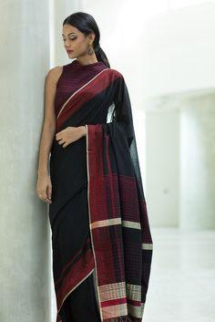 Rathu Kotu Saree from FashionMarket.lk