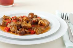 Teľacie ragú Kung Pao Chicken, Shrimp, Meat, Ethnic Recipes, Food, Beef, Meal, Essen, Hoods
