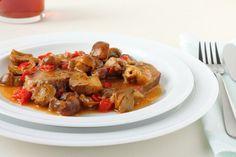 Teľacie ragú Kung Pao Chicken, Shrimp, Meat, Ethnic Recipes, Food, Essen, Meals, Yemek, Eten