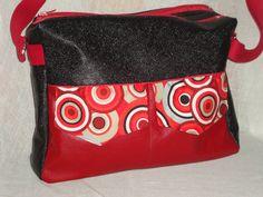 Besace Zip-Zip cousue par Des sacs encore des sacs - Patron couture Sacôtin