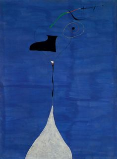 Joan Miró ~ The Fratellini Brothers, 1927 (oil on canvas)