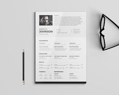 Professional Graphic Design Resume 30 Beautifully Designed Resume Examples For Your Inspiration .
