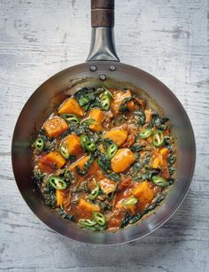 Sweet Potato Saag Aloo