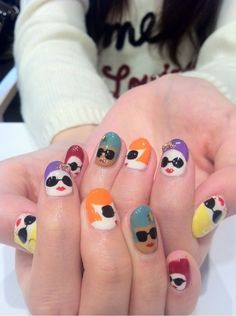 Cool Nails | Cool-Nail-Painting-Ideas-128