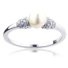 Silver Diamond Rings | Womens Silver Rings | Diamond Sterling ...