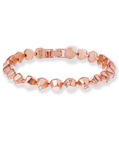Posey link bracelet in Rose Gold - Kendra Scott Jewelry.