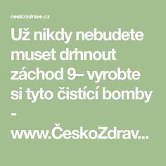 Už nikdy nebudete muset drhnout záchod  9– vyrobte si tyto čistící bomby - www.ČeskoZdravě.cz