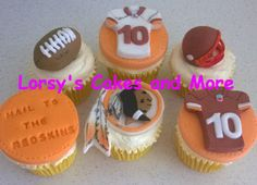 RedSkins Birthday Cupcakes