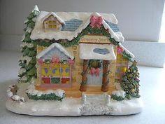 "Precious Moments Hawthorne Village Christmas ""Joyous Village Grocery"