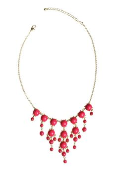 Dressing Your Truth - Type 1 Baby Bubbles Necklace in Pink