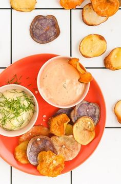 Let's Get Baked: Homemade Baked Potato Chips - Paper and Stitch
