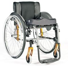 Quickie Life R Wheelchair