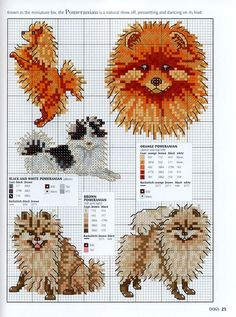 Cross Stitch Patterns Dogs and Puppies