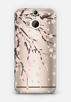 Sakura HTC One M8 case by Julia Badeeva | Casetify