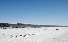 80MWp Solar Farms Completed. Location: Hami, Xinjiang Province, China