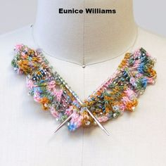Knitted Knockers & DIY Knit-cessories Necklace WINNERS!