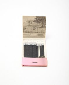 #charmcolorfully vintage matchbook