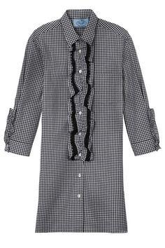 THE BAZAAR: Opposites Attract: Shop The Trend - Prada dress