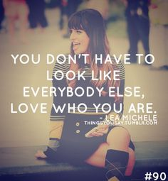 Lea Michele was always a role model of mine, but now more than ever <3