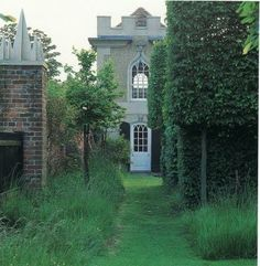 David Hicks' Secret Garden at The Grove as seen in David Hicks: Designer.