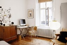 A relaxed, bohemian space in Stockholm, http://myscandinavianhome.blogspot.com