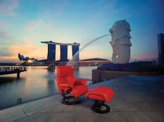 Stressless in Singapore, relax-chair, Pfister