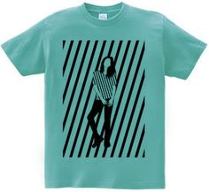 Shadow T-shirt : SIMPLE IS B... [半袖Tシャツ [6.2oz]] - デザインTシャツマーケット/Hoimi(ホイミ)