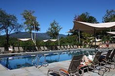 Outdoor Pool at Topnotch Resort, #Stowe #Vermont #IWannaGo