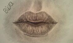 Lips sketch :) #lips