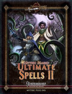 Mythic Magic: Ultimate Spells II -   So this would be the fourth installment of Mythic Magic, and, like its predecessors, it tackles one of Paizo's big books and provides mythic versions of all spells not covered in the original Mythic Adventures hardcover - ALL OF THEM. This time around, Ultimate Magic is covered. Now I'm not a fan of the base book. I think that it introduced a lot of power creep and some not so awesome design decisions, but that's for another rant - I love its magus and…