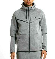 3bc19f242 Nike Tech Fleece Windrunner Hoodie Jacket Mens S Carbon Heather Black #Nike  #Hoodie