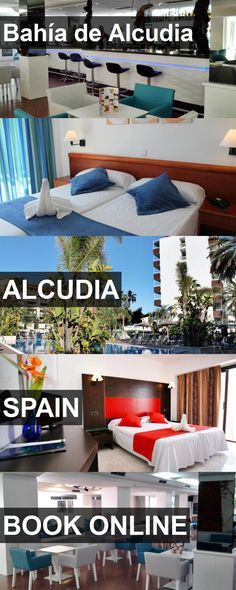 Hotel Bahía de Alcudia in Alcudia, Spain. For more information, photos, reviews and best prices please follow the link. #Spain #Alcudia #hotel #travel #vacation