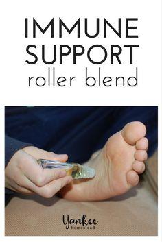 Essential Oil Immune Support Roller Blend | Yankee Homestead