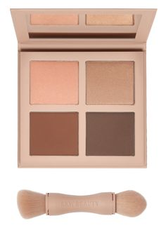 Medium! CONTOUR, SHADE, SCULPT AND HIGHLIGHT WITH THE KKW BEAUTY POWDER CONTOUR & HIGHLIGHT KIT. THE SOFT, BUILDABLE POWDER FORMULA MAKES APPLICATION EASY AND BLENDS EFFORTLESSLY FOR A SEAMLESS LOOK. THE PRESSED POWDER QUAD FEATURES TWO MATTE CONTOUR SHADES, IDEAL FOR SCULPTING HOLLOWS OF CHEEKS, HAIRLINE, NOSE AND JAWLINE, AND TWO SHIMMER HIGHLIGHT SHADES FOR BRIGHTENING AND ADDING GLOW TO CHEEKBONES, CUPID'S BOW, NOSE, CORNERS OF THE EYES, COLLAR BONES AND ANY AREAS YOU WANT TO ADD…