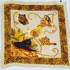 #ungaro #scarf #vintage https://www.etsy.com/it/listing/517721171/ungaro-foulard-vintage