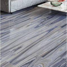 Dellano x Porcelain Wood Look Tile in Blue/Gray Plank Flooring, Hardwood Floors, Flooring Ideas, Diy Flooring, Kitchen Flooring, Mosaic Tiles, Wall Tiles, Best Floor Tiles, Glass Subway Tile