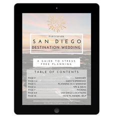 free 10 page san diego destination wedding guide!   #sandiegowedding #destinationwedding #weddingplanner