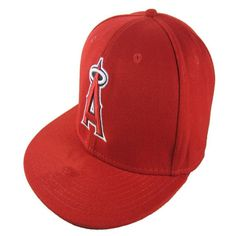 d235ed130d3bcd Wholesale Los Angeles Angels #Fitted #Caps A Letter embroidery baseball cap  flat-brim