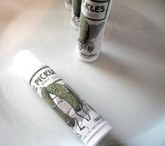 Pickle flavored lip balm??? Maybe. But maybe not.