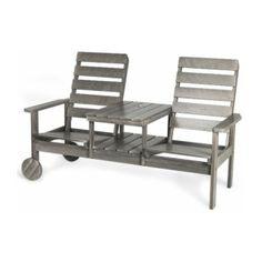 KWA Stereo Dubbelfåtölj Grå   TheHome.se Outdoor Chairs, Outdoor Furniture Sets, Outdoor Decor, Home Decor, Garden Chairs, Interior Design, Home Interior Design, Home Decoration, Decoration Home