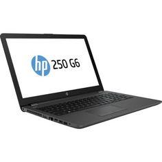 HP 250 G6 - 15.6' - Core i5 7200U - 4 GB RAM - 500 GB HDD - US, Dark Ash Silver