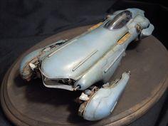 Great weathering | Futuristic Car Model